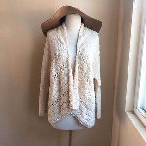 Ripcurl Open Boucle Sweater Cardigan